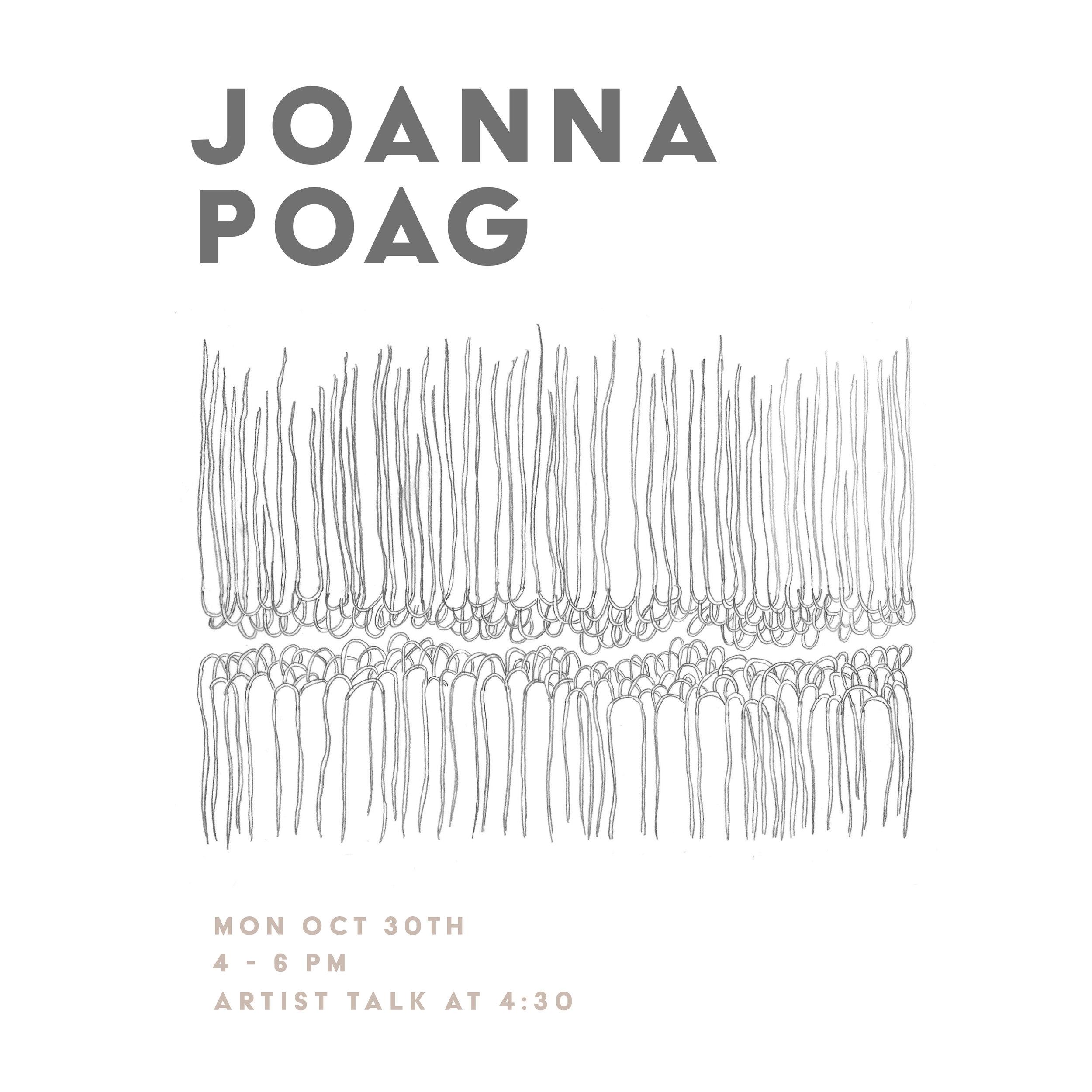 STUDIES IN ENTROPY - JOANNA POAGNOVEMBER 2018