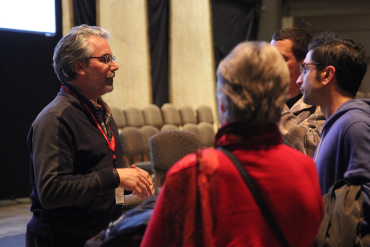 Director/Producer, Paul Lazarus speaks with audience members