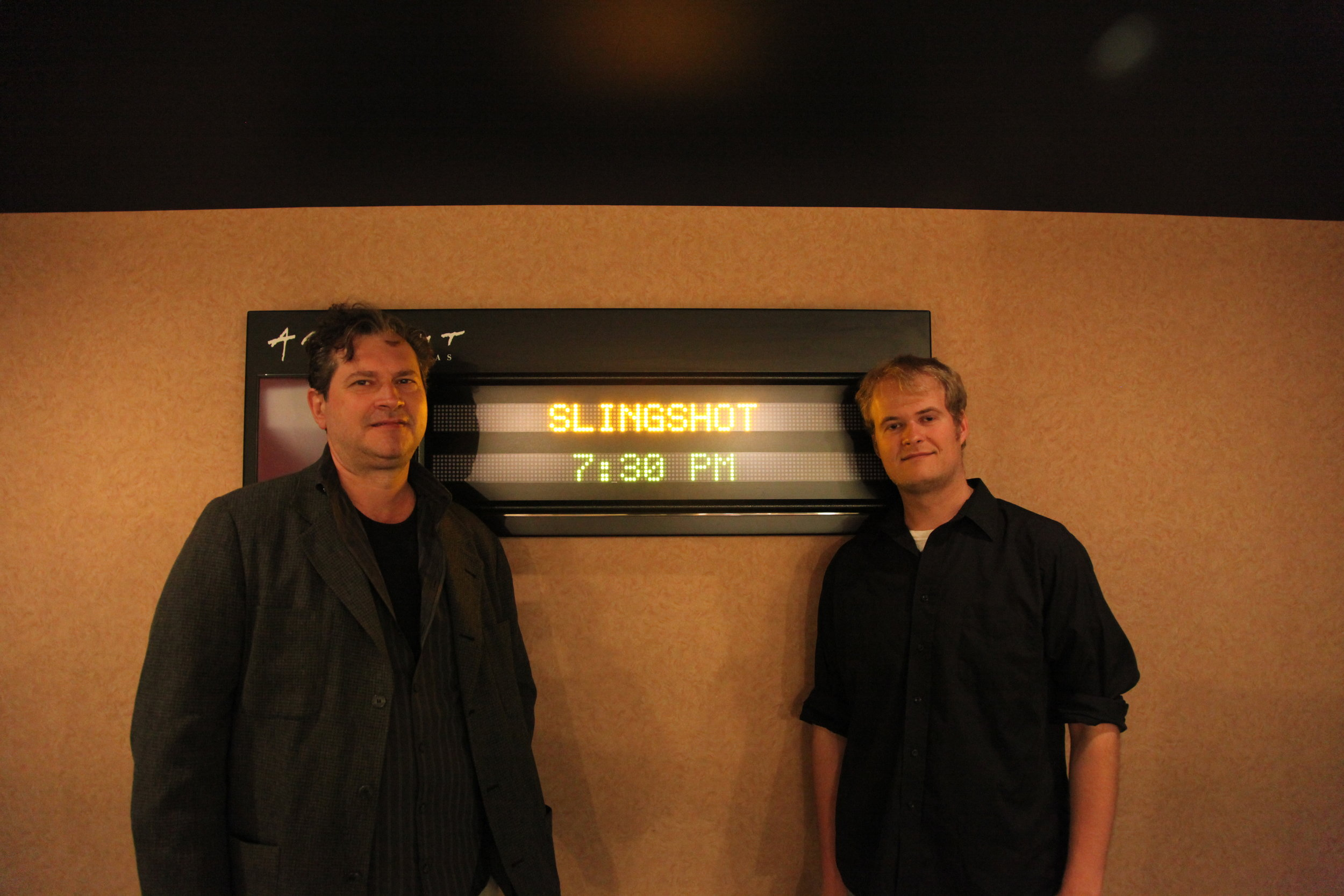 Composer, Marco d'Ambrosio, Assistant Editor, Sam Hook