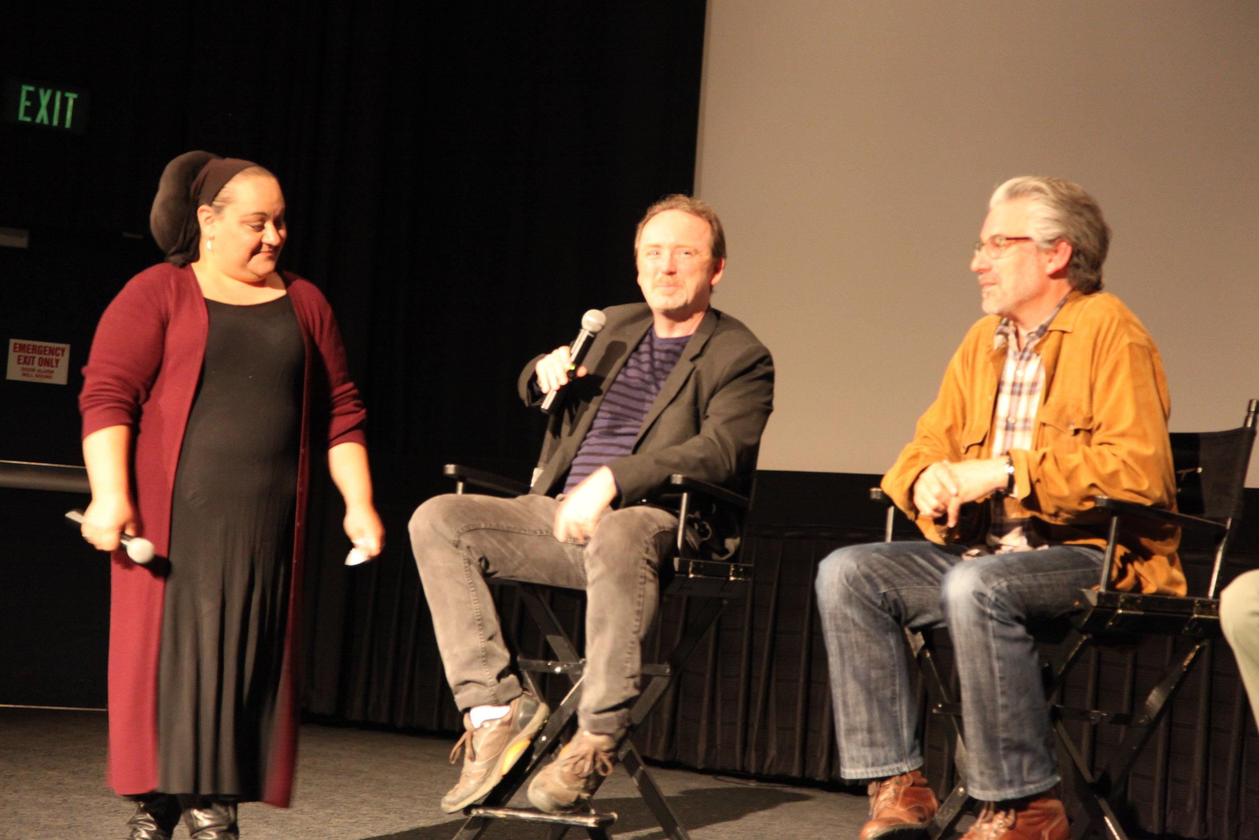 Curator, Marjan Safinia, Consulting Editor/Associate Producer, Doug Blush, Director, Paul Lazarus
