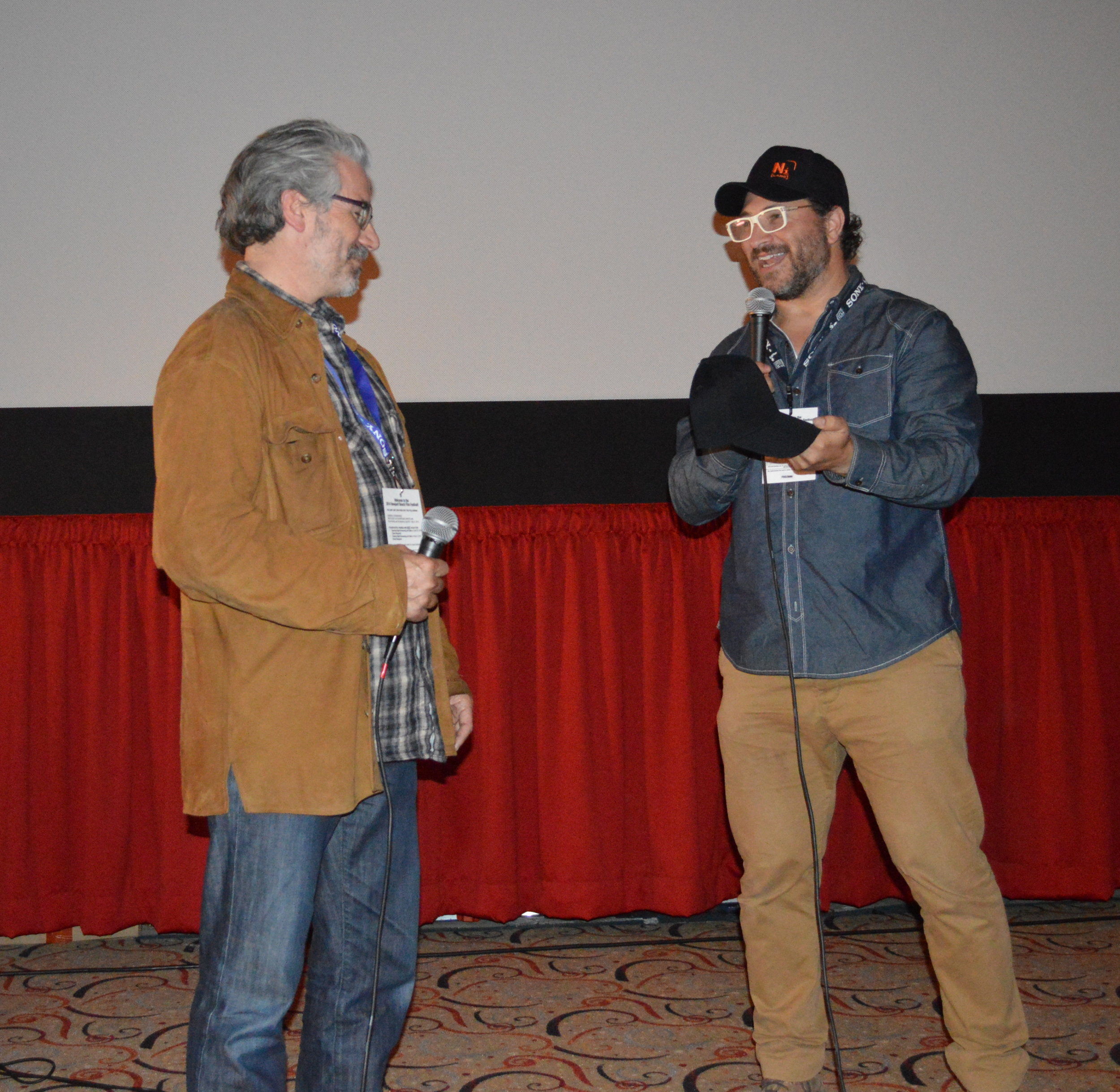 Director, Paul Lazarus and Moderator, Elliot Kotek