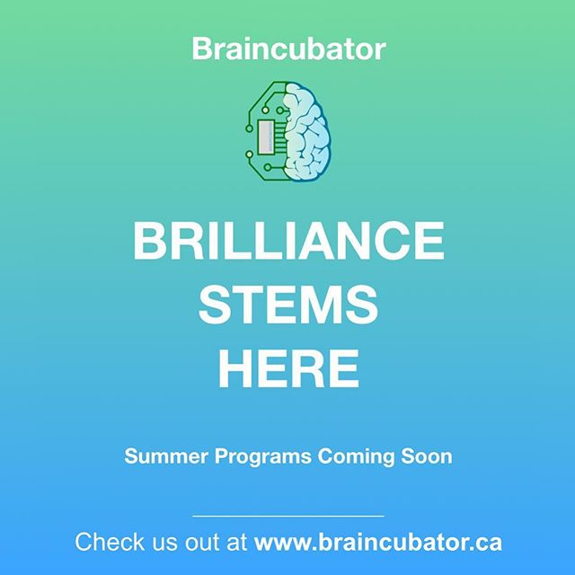 Stay tuned for our summer camp info! #summercamps #stem #science #engineering #toronto #gta