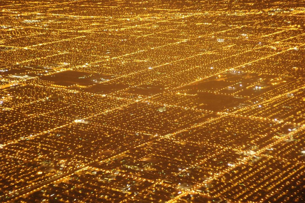 Chicago at night, 1989.jpg