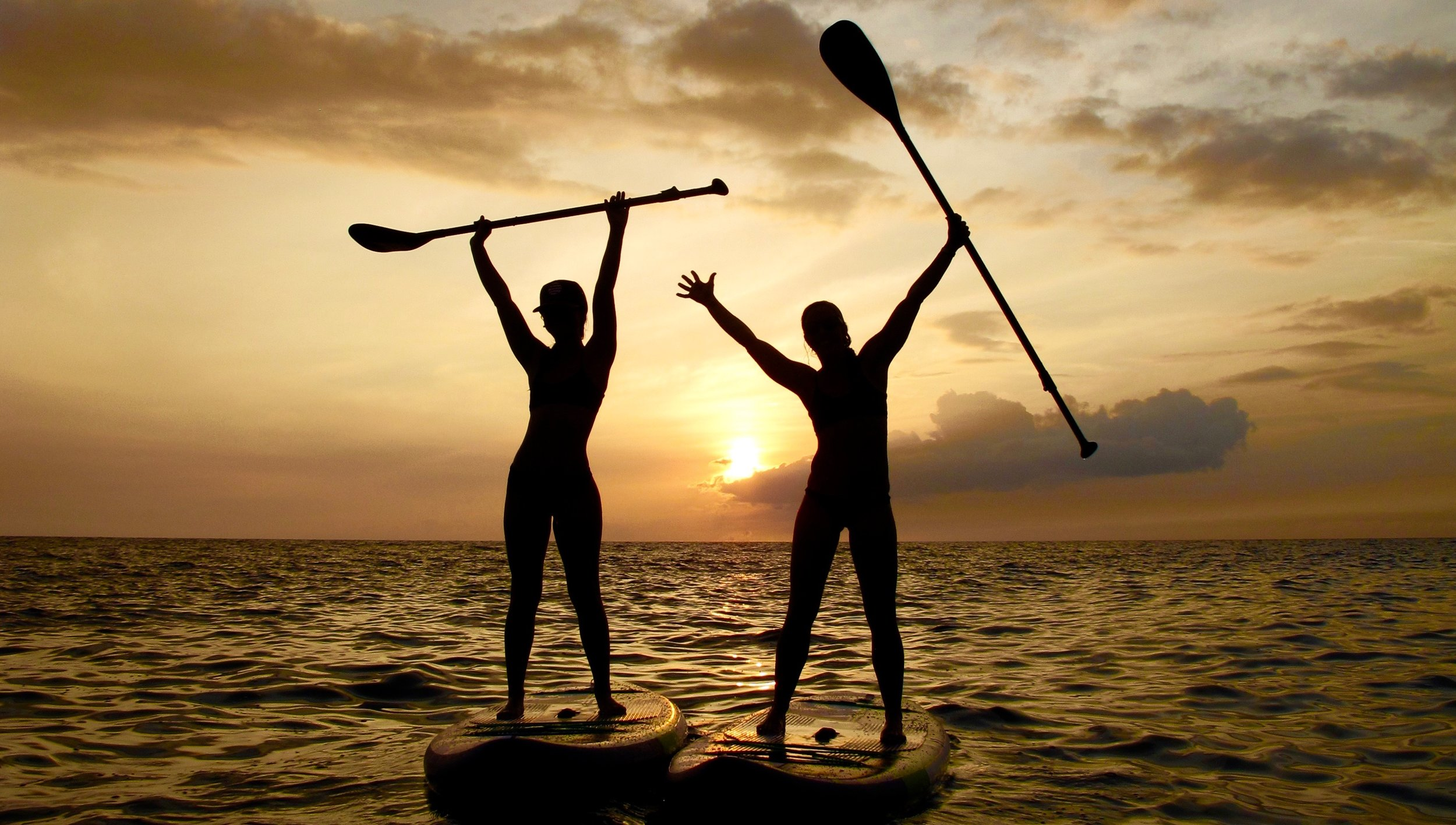 PADDLE BOARD LESSON - If you're not ready to rent one on your own, have one of our expert guides show you the ropes. After your thirty minute lesson you get an additional hour to use the board when you are ready!