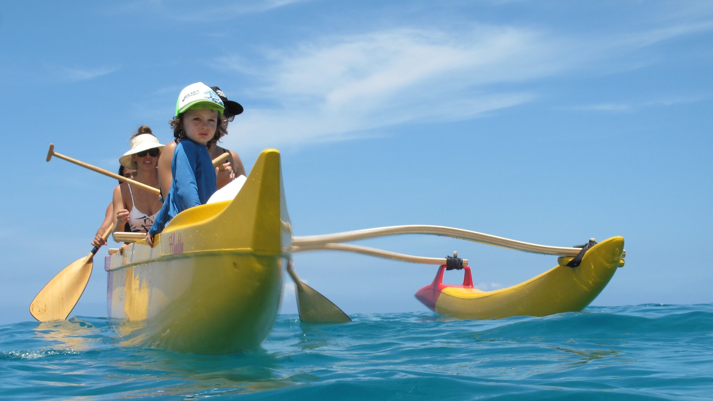 CANOE ADVENTURE - Whale watching, dolphin encounters, or snorkel a fish sanctuary! Your private canoe adventure leaves right off the beach!