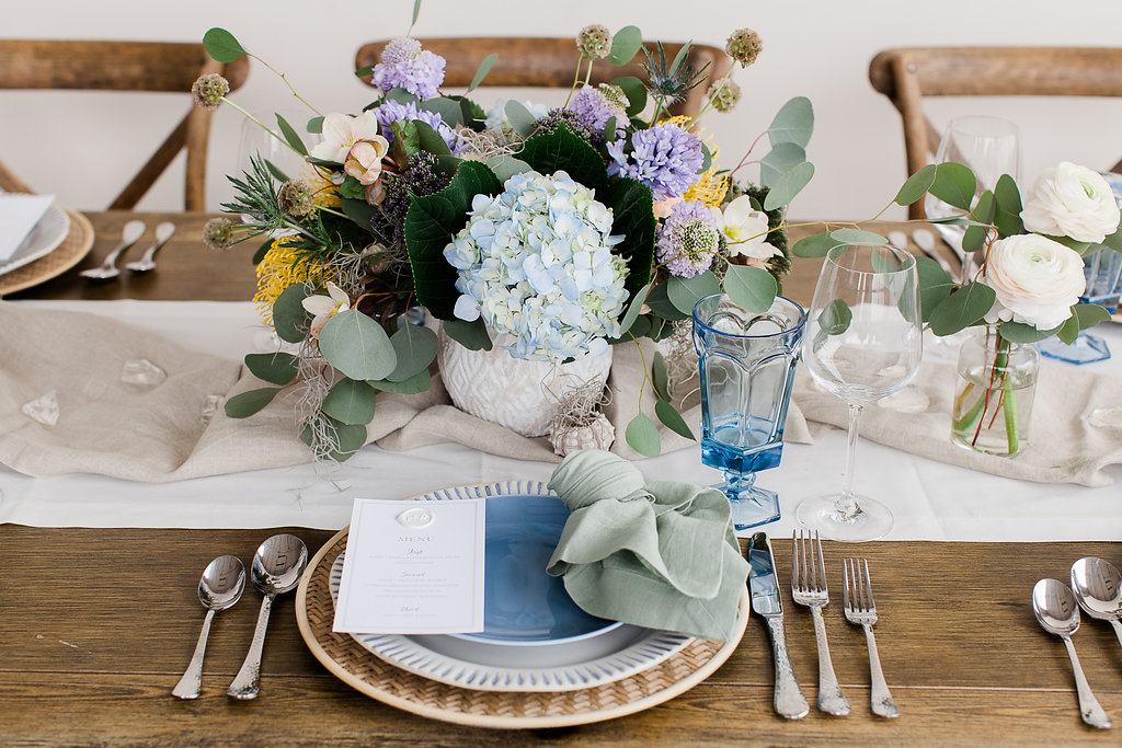 Behind the Design | Seaside Inspired Dinner Party — Samantha Joy