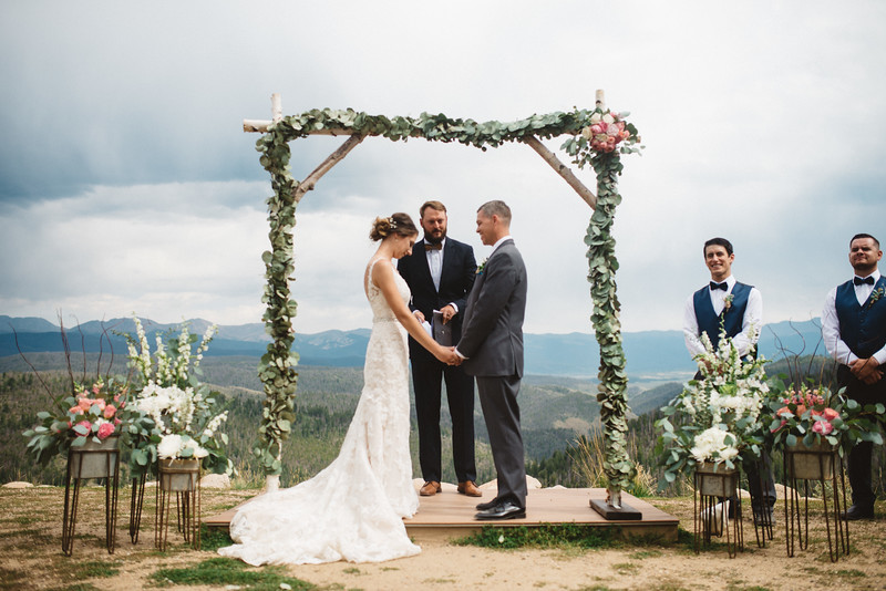mountain wedding in winter park colorado