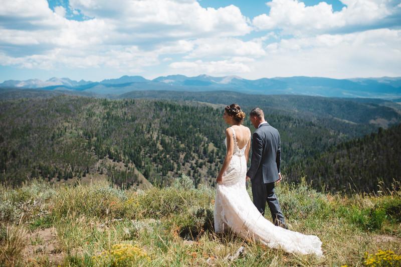 colorado overlook wedding