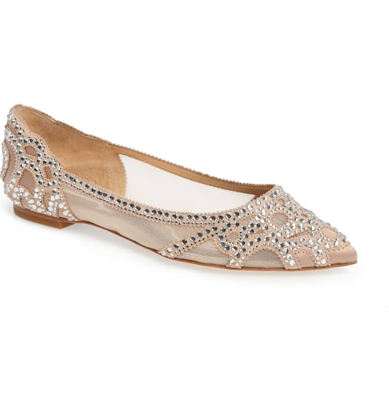 Badgley Mischka Gigi Pointy Flat