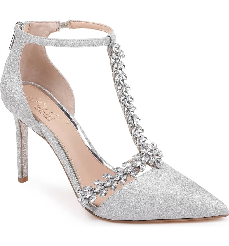 Jewel by Badgley Mischka Meena T-Strap Pump