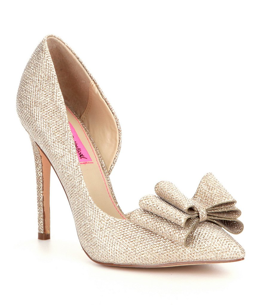 Betsy Johnson Prince d'Orsay Evening Pumps