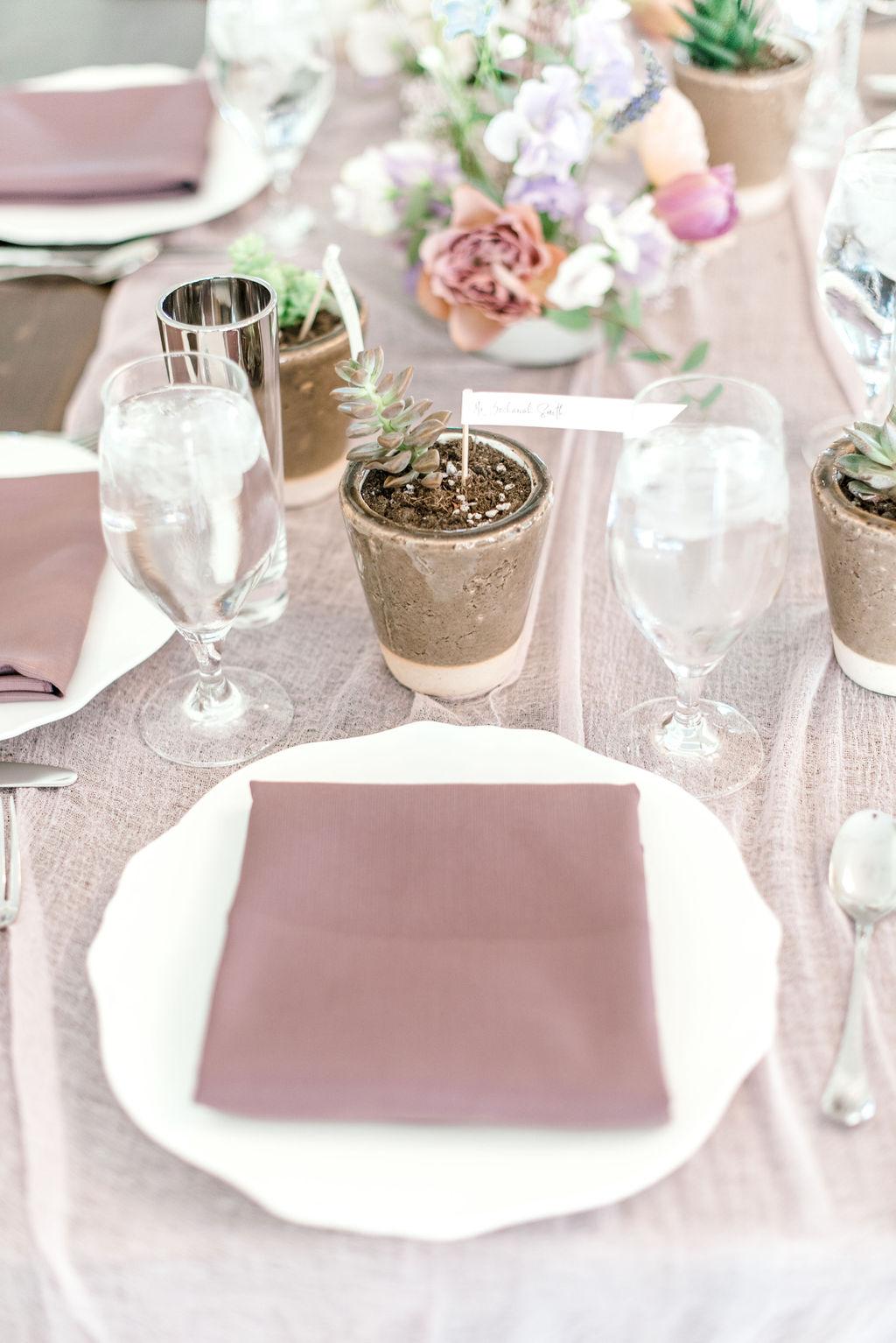Dayton-event-planner-succulent-wedding-favors-seating