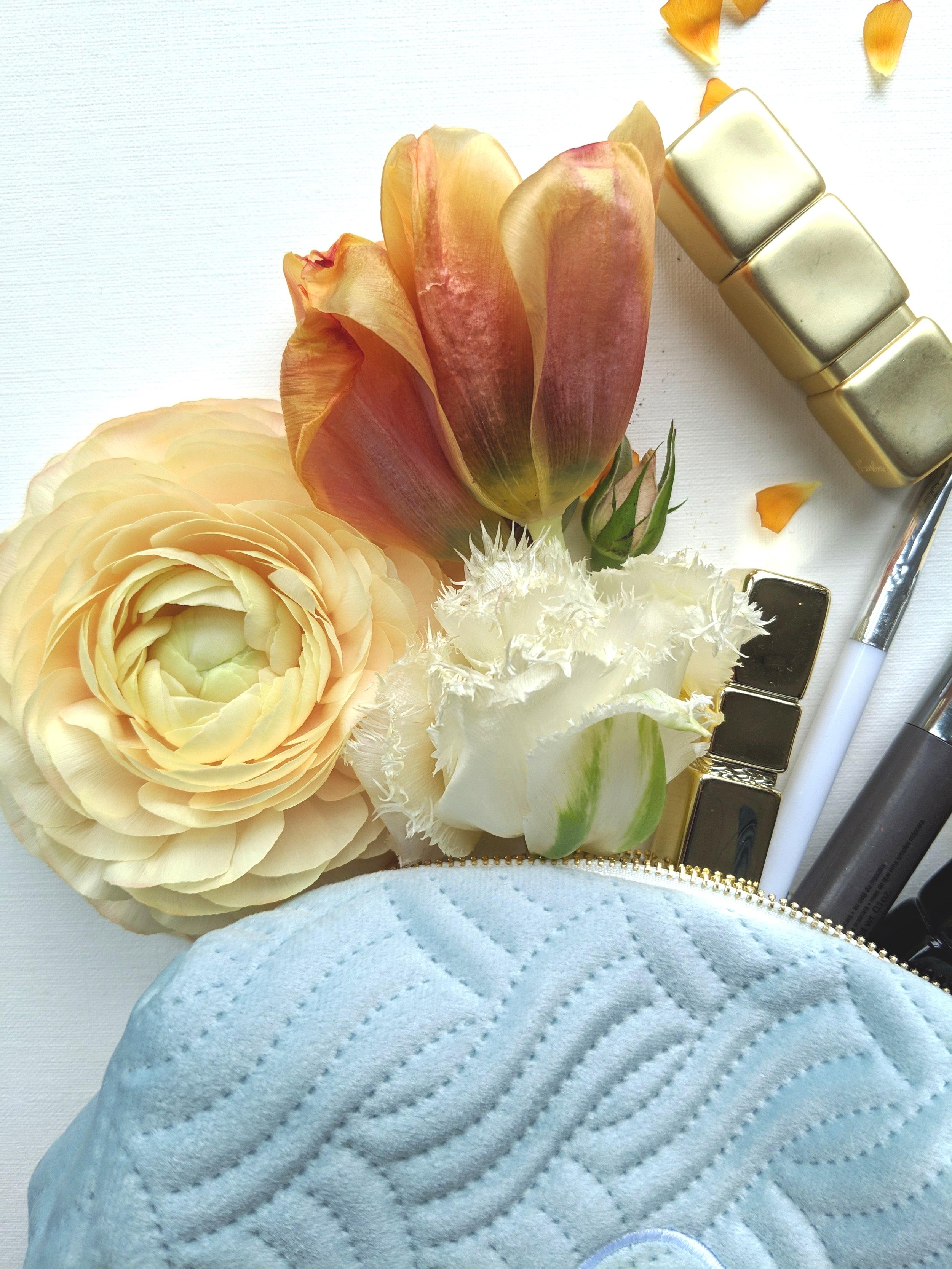 bridesmaids gift makeup bag