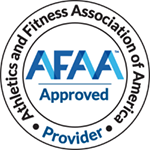 AFAA Approved Provider Athletics and Fitness Association of America