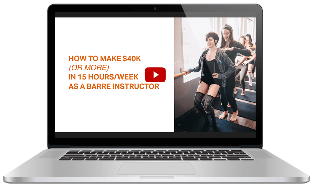 How to become a certified barre teacher