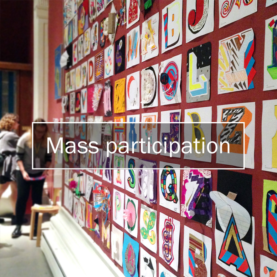 Type Tasting events: Mass participation
