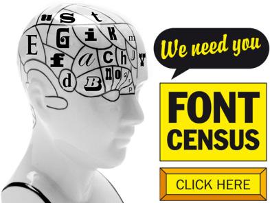 Type Tasting Font Census