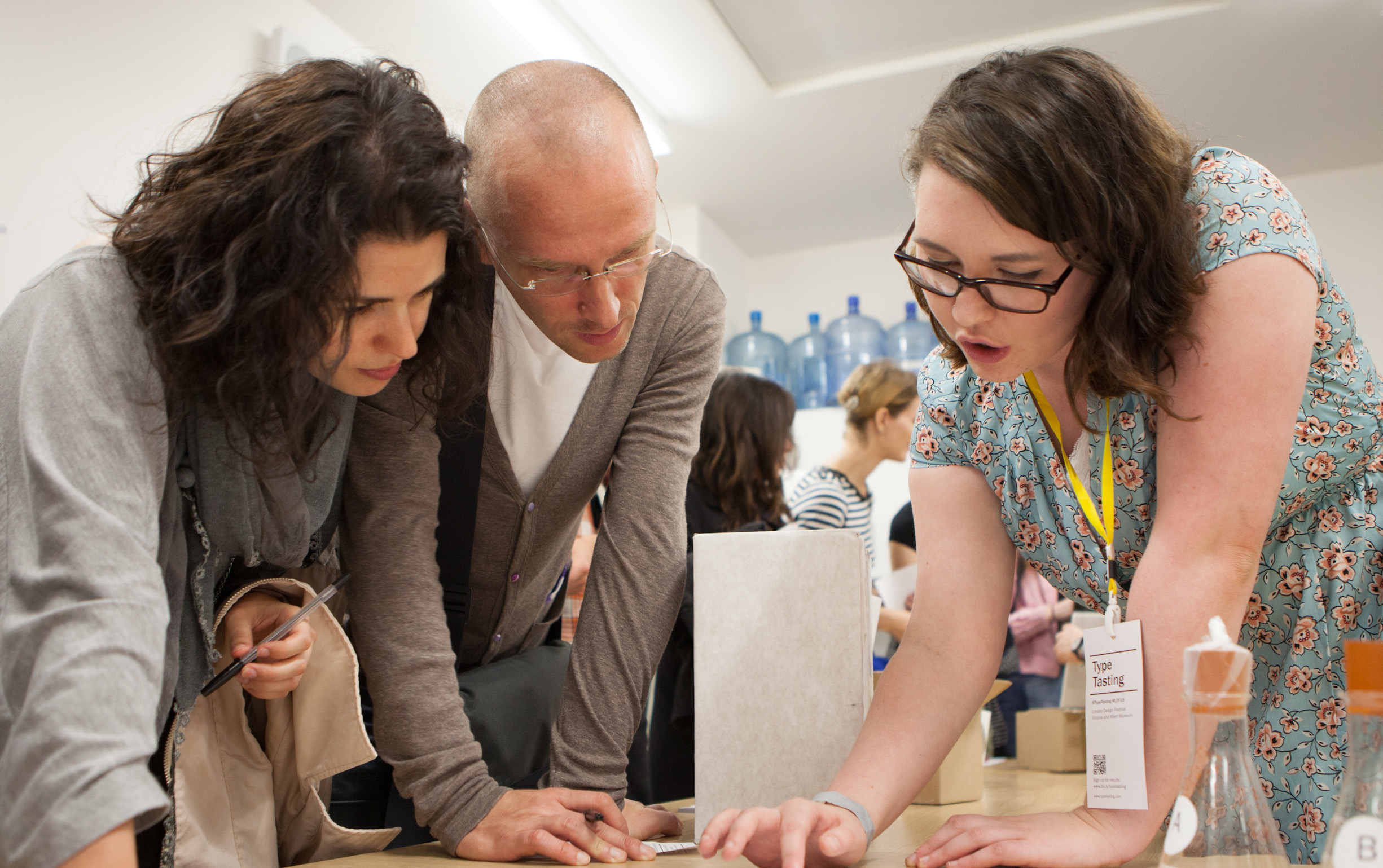Client workshop photo by David Owens