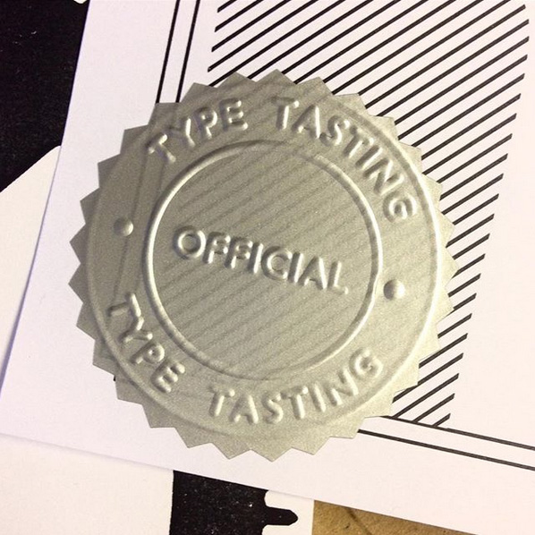Type Tasting official