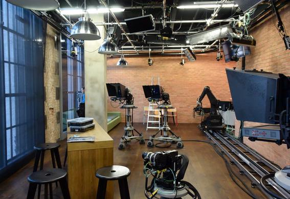London Live TV studio