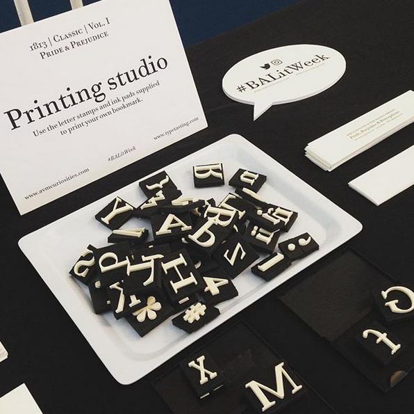 Type Tasting printing studio