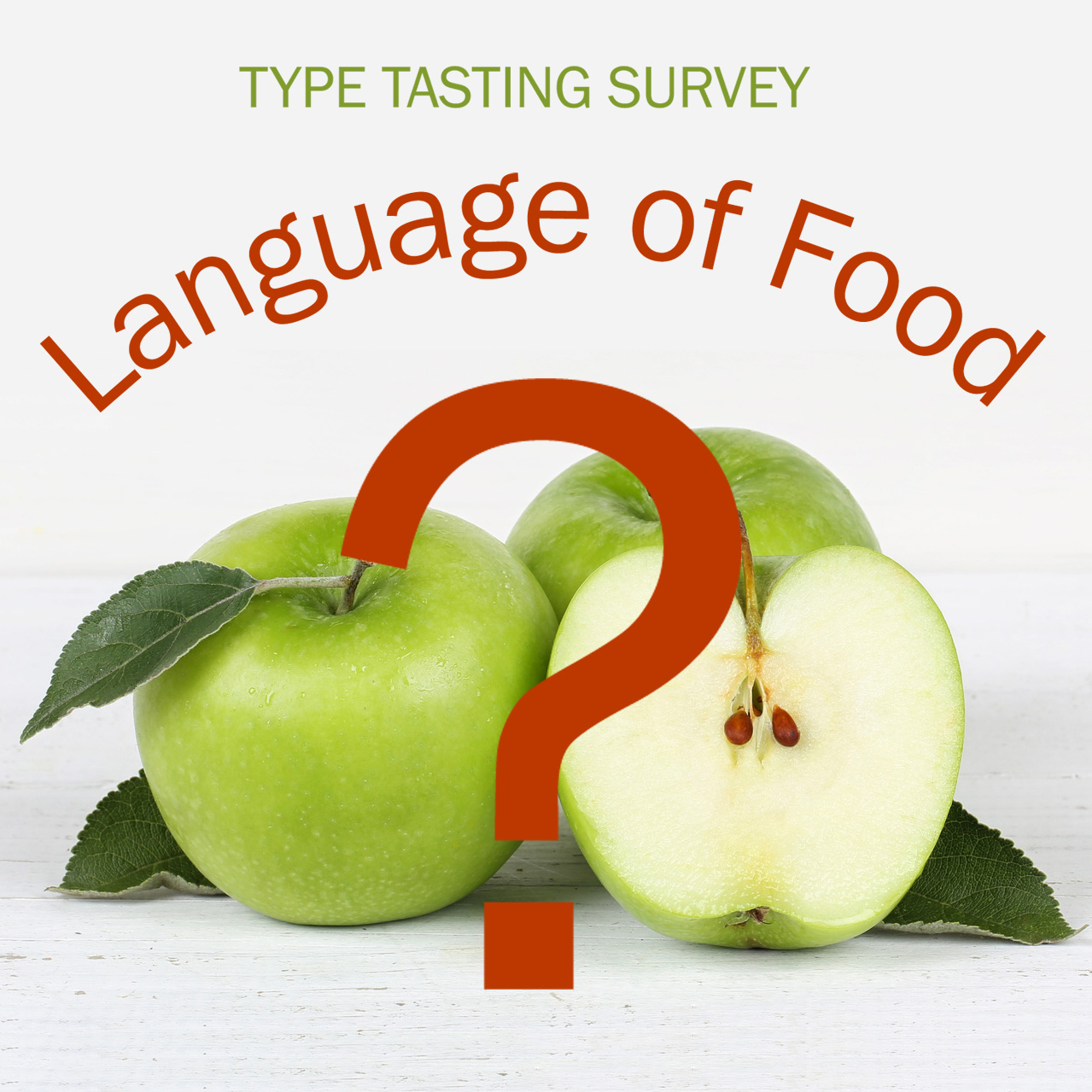 Language of food survey