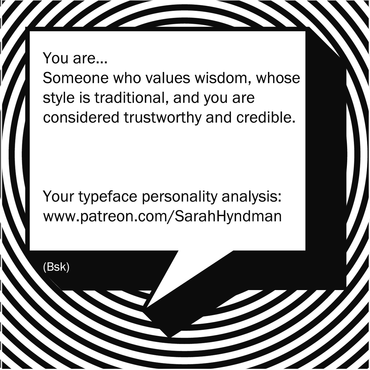 What's your Typeface Personality?