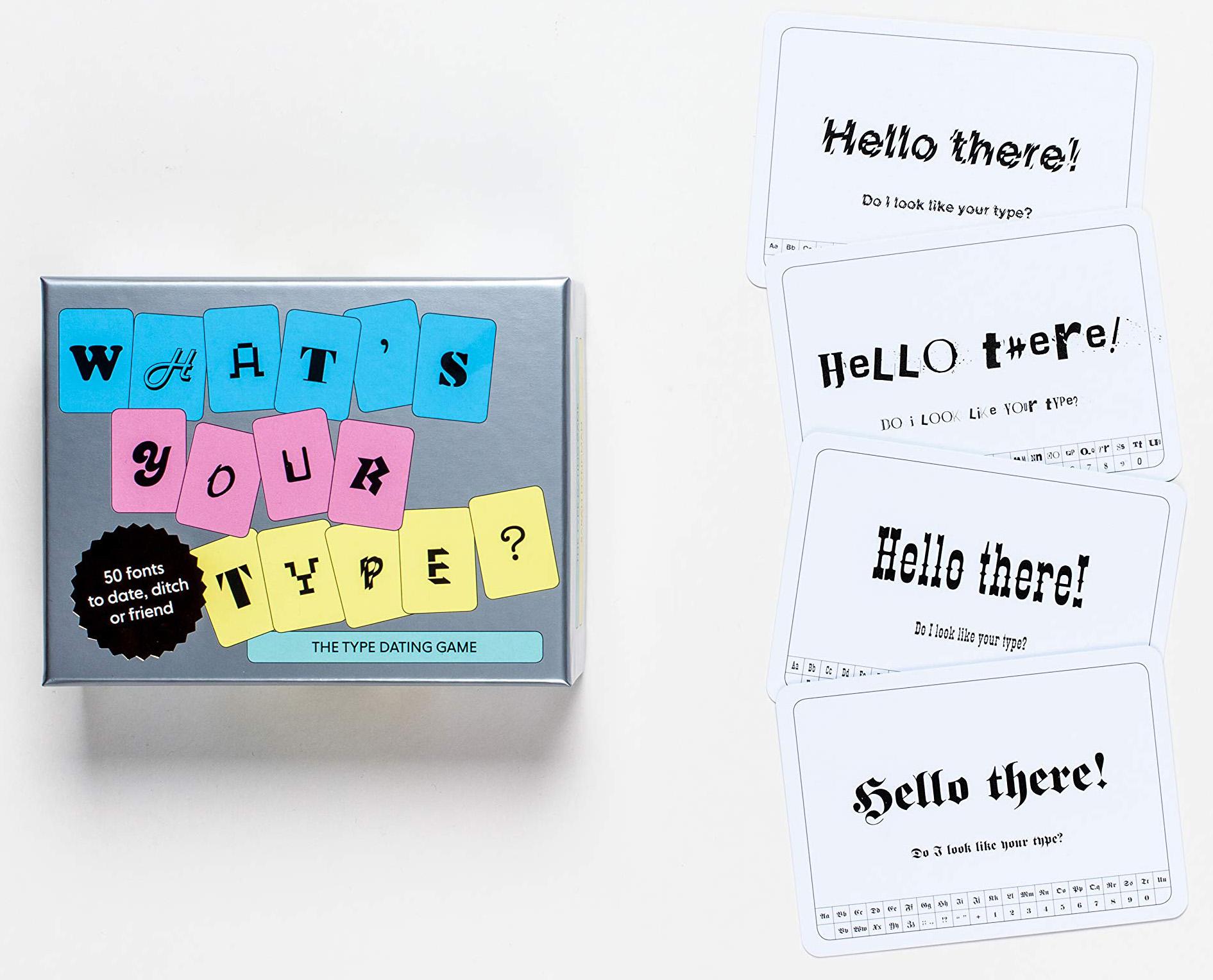 What's Your Type? The type dating card game