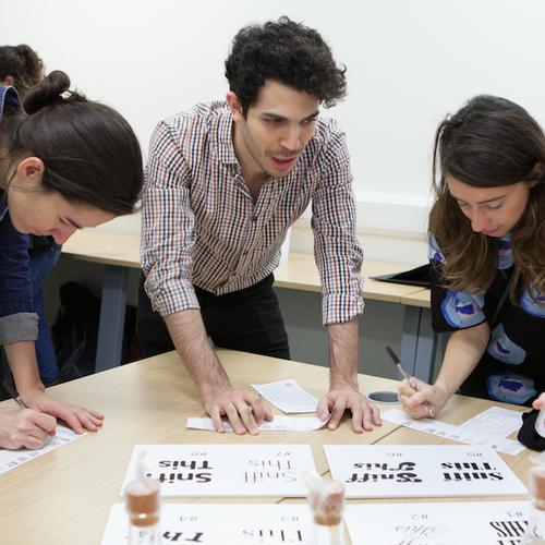 Perception, storytelling and decoding type