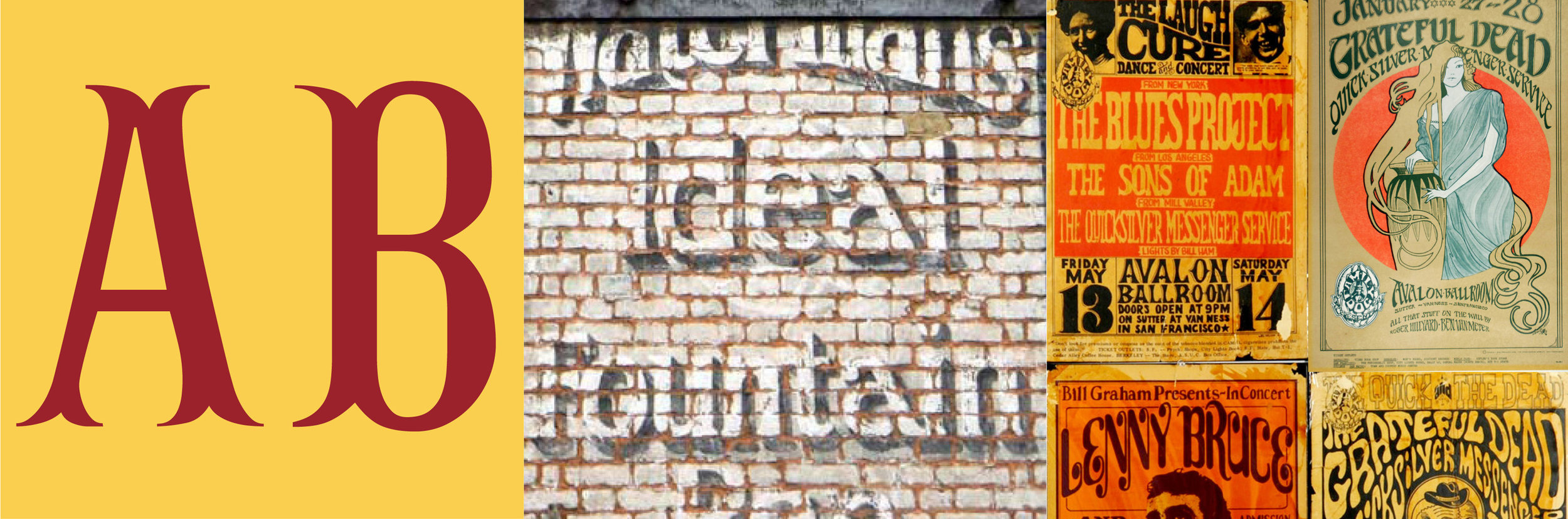 Unpick the idiosyncrasies of naming systems, and celebrate sign writers as the first branding designers — whose influence can still be seen in many of today's logos. Find out how a quick and casual style left England and went on to travel the world; and spot the shapes of fading ghostsigns in the counter-culture of the 1960s.