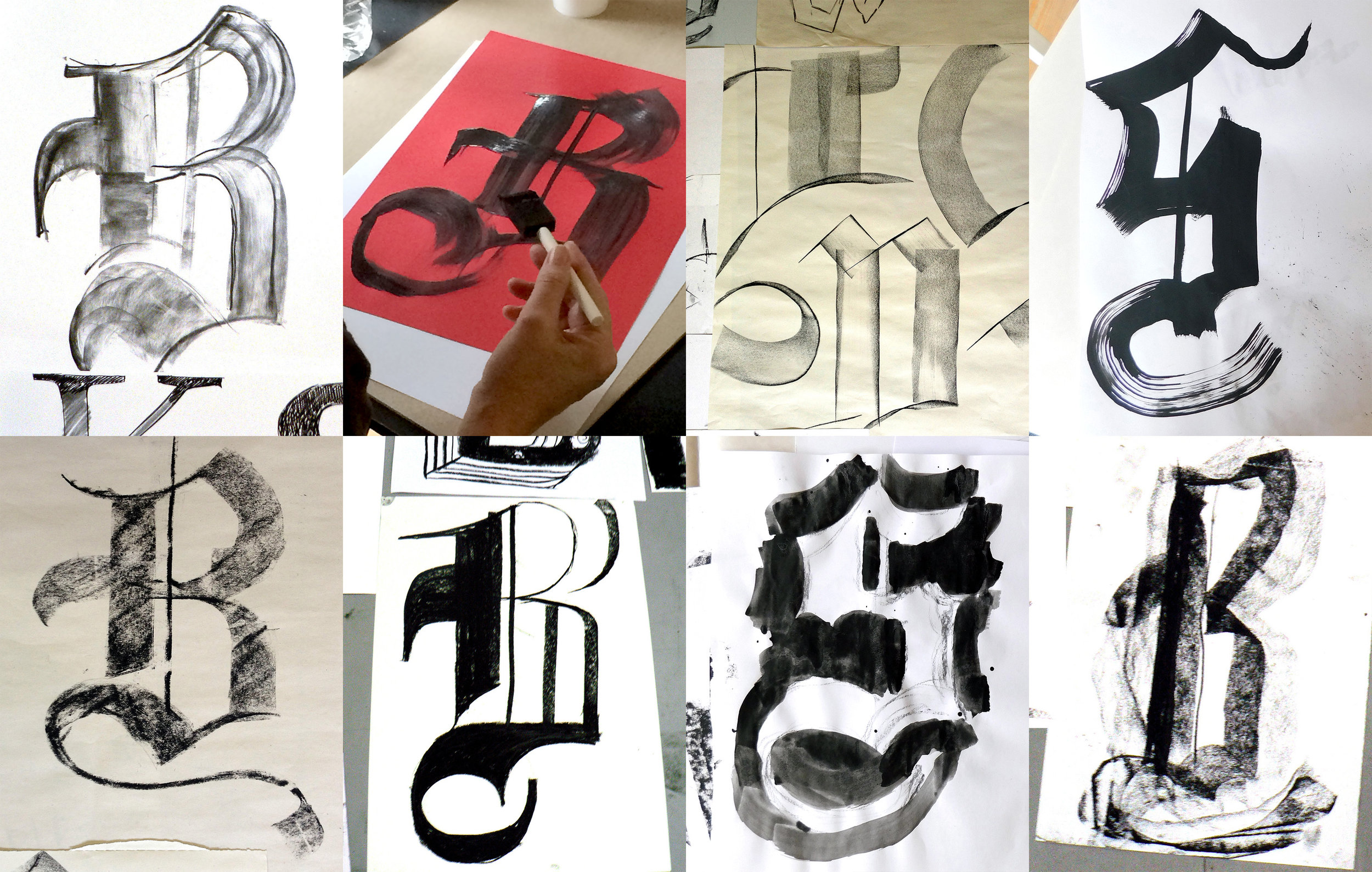 Blackletter sketches