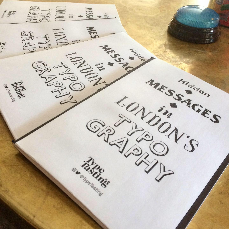 Hidden messages in London's typography