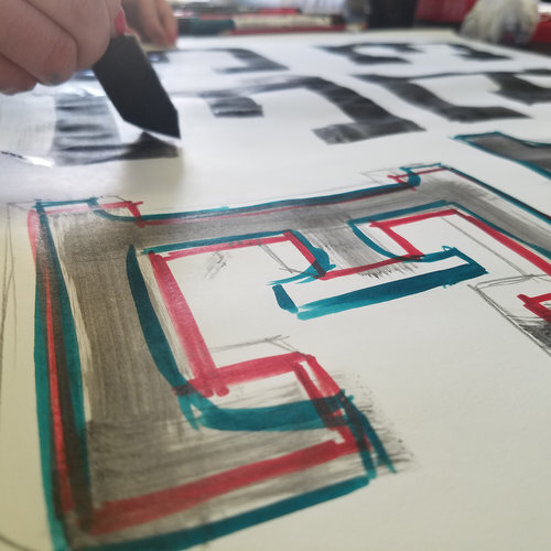 From Brush Strokes to Typography