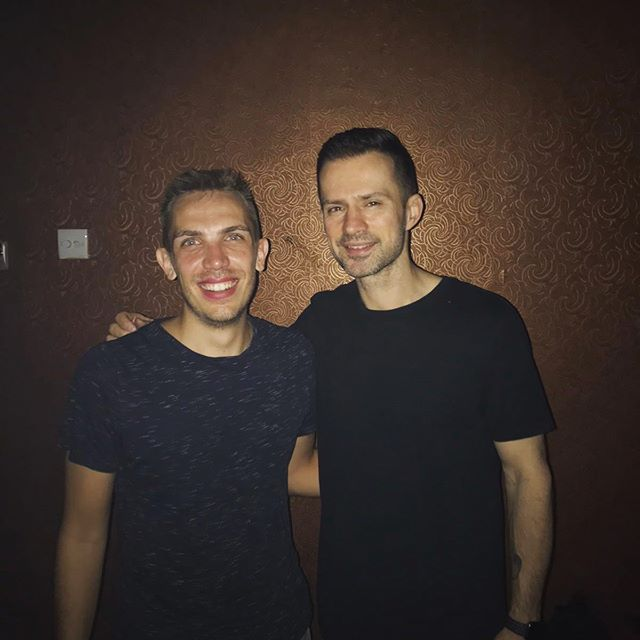 With the extremely humble and incredibly talented @dirtysouth  Thanks so much for countless hours of amazing music and memories! 🖤