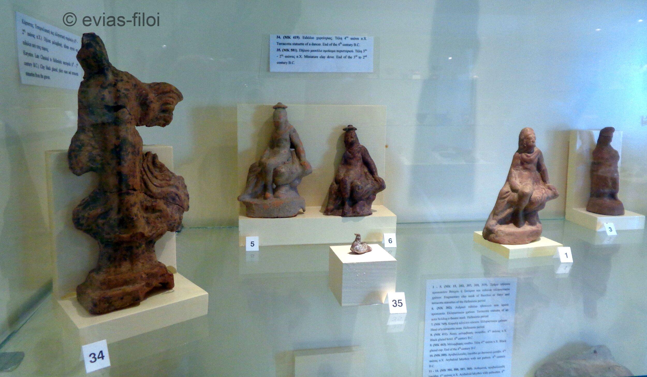 Ειδώλια και πήλινα ομοιώματα (2ος-4ος αι. π.Χ.)