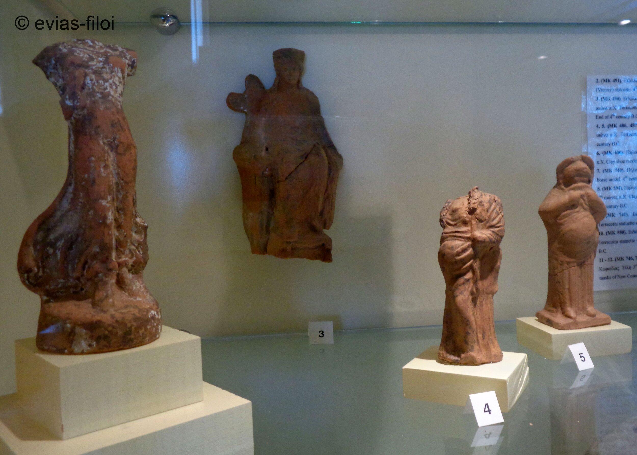 Ειδώλια και πήλινα ομοιώματα 2ος-4ος αι. π.Χ.