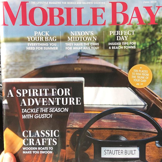 Great article on wooden boats...happens to feature my brother😉and nieces...and a few other bay buddies! #gulfcoast #bestplacetobe #ticklecreativeinspiration #ticklecreative #mobilebay #mobilebaymagazine #biloxilugger #woodenboats