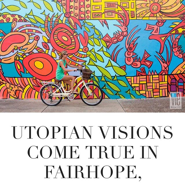 Cool article in Vie Magazine, features my Mullet Run fountain as well as my Aboriginal Sealife mural in Fairhope...thanks Vie! http://viemagazine.com/article/utopian-visions-come-true-in-fairhope-alabama/. #publicart #americatickle