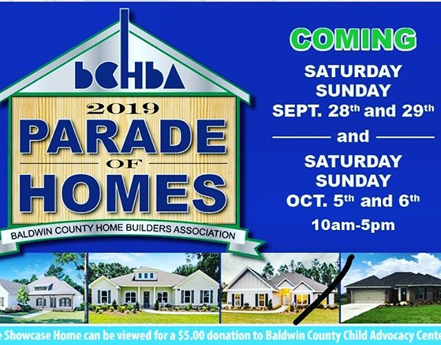 Stop by and pick up info to reserve your NEW LOT...or call for a tour! Look for our ad on the inside back cover of the Parade's booklet- 251-424-3700