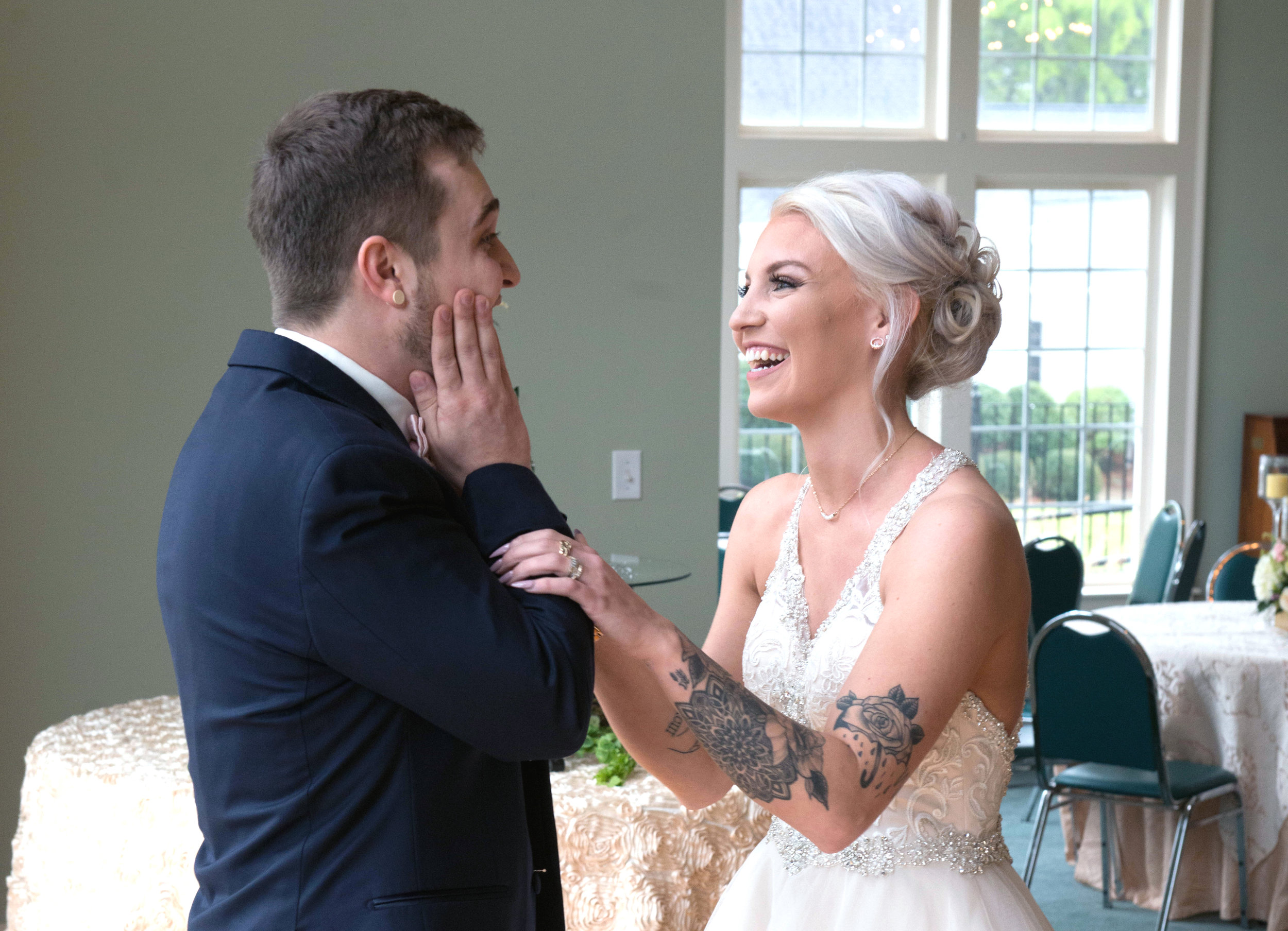 First Look Wedding Georgia