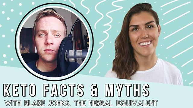 Blake from The Herbal Equivalent was recently on an interview with @healthcoachkait on her YouTube channel! Go check it out to learn about the truth behind some common keto diet claims!  #healthcoachkait #keto #ketogenicdiet #ketomyths #ketotruths #ketosis #ketofacts #healthcoach #theherbalequivalent #hequals #collaboration #YouTube #newcontent #interview #health #supplements #science #ketoscience #lowcarbhighfat #lchf