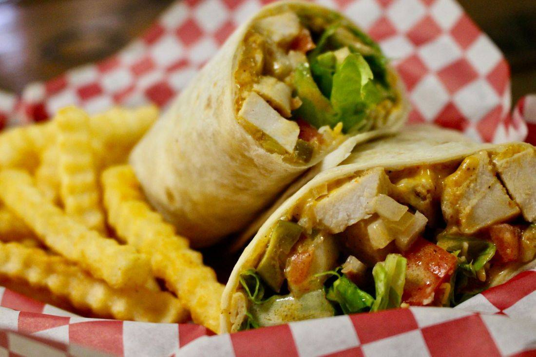 Food - Breakfast Burritos, Wraps, Burgers, and more. See More Menu Items Here