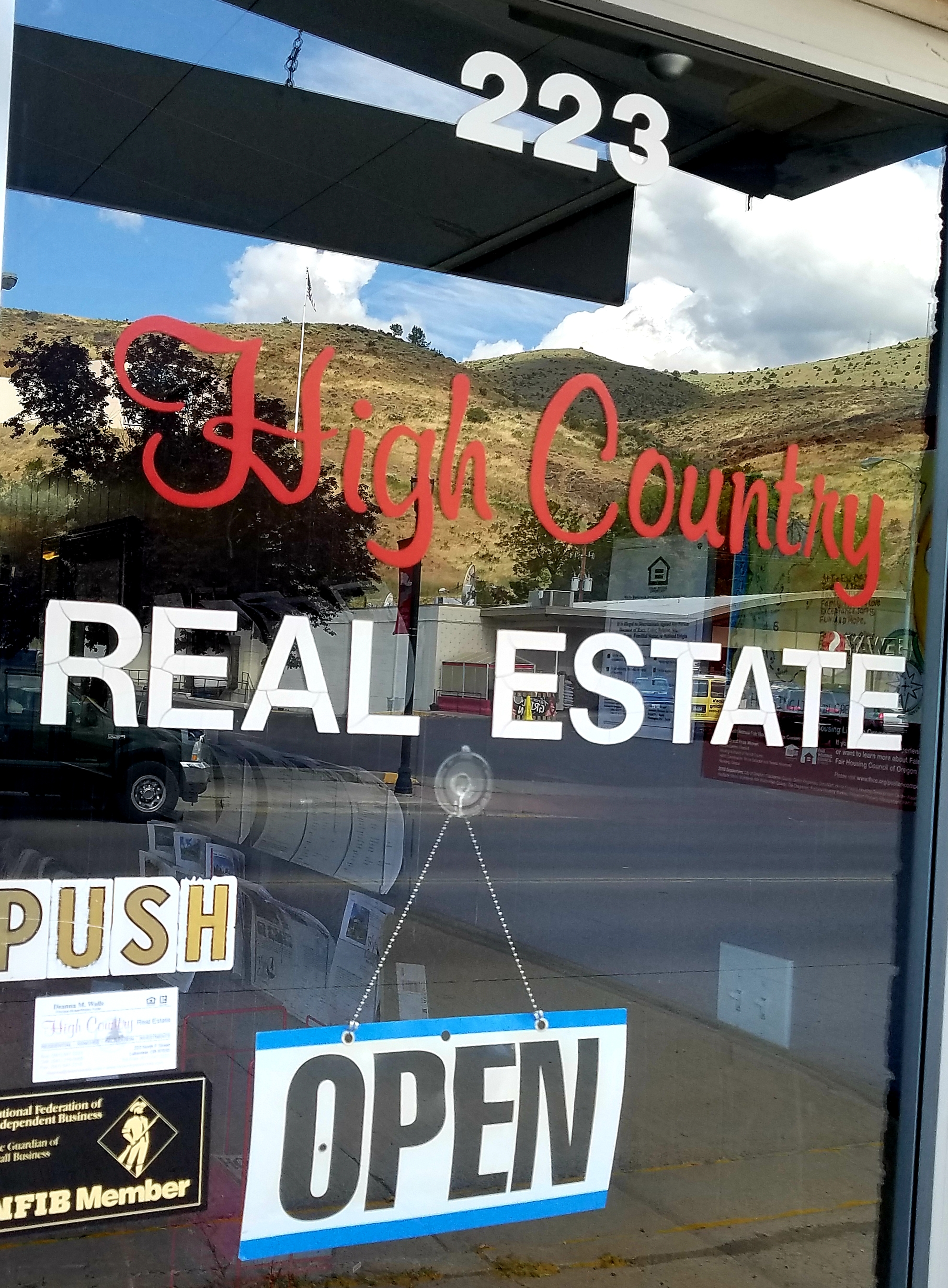 High Country Real Estate Door.jpg