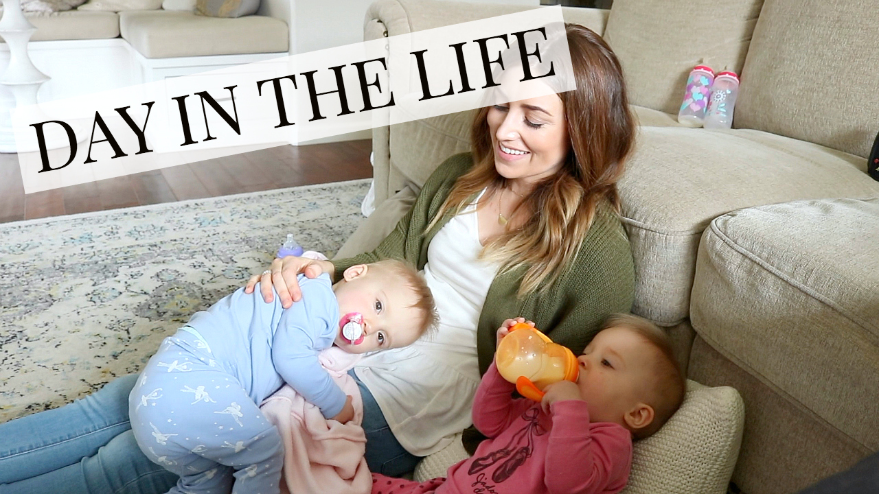 Day in the Life with Twins / Working from home Mom | Kendra Atkins