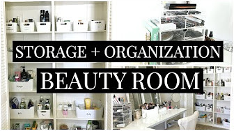 Cleanout & Organization of my Beauty Room | Kendra Vlogs