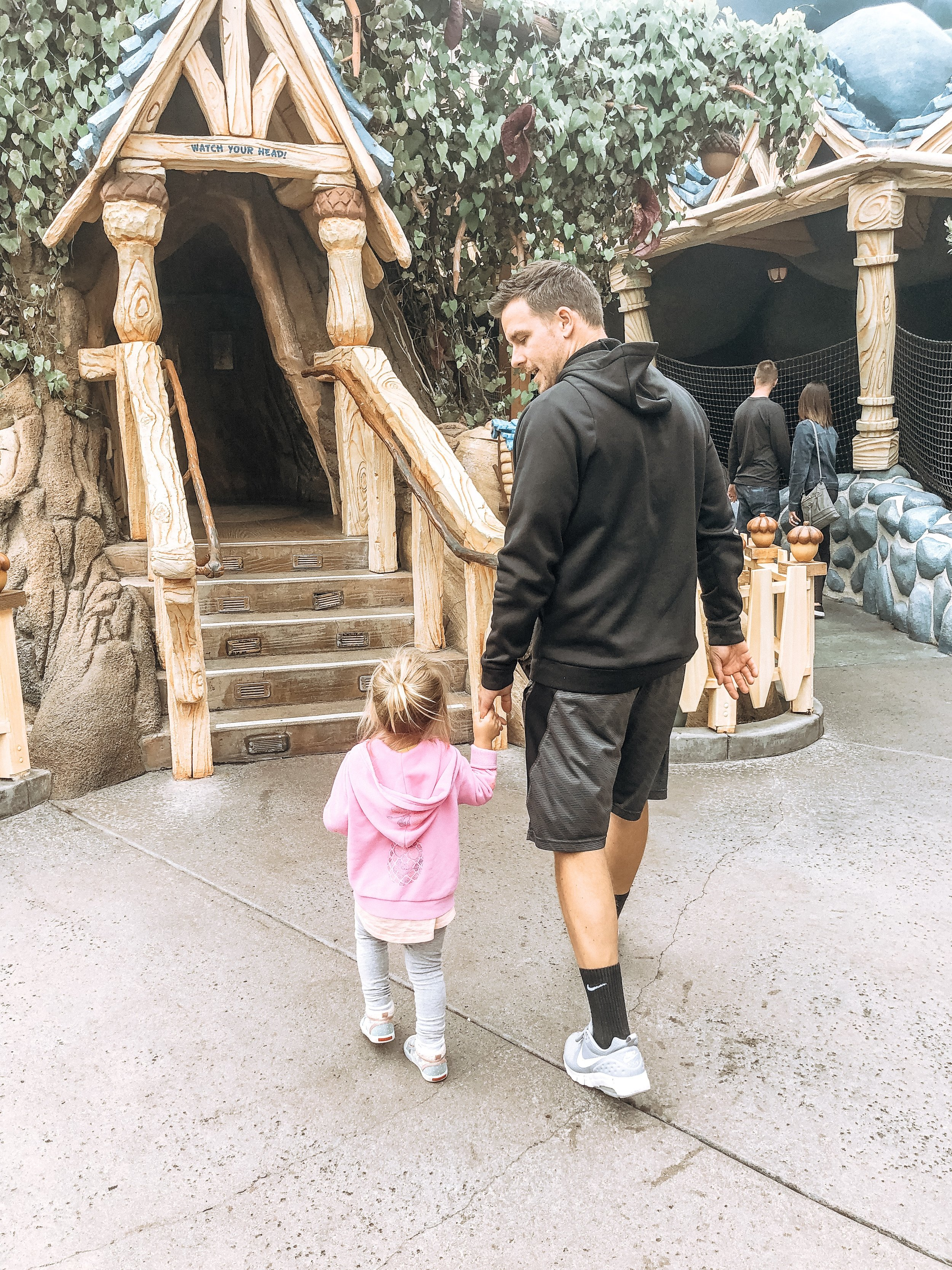 disneyland with twin toddlers