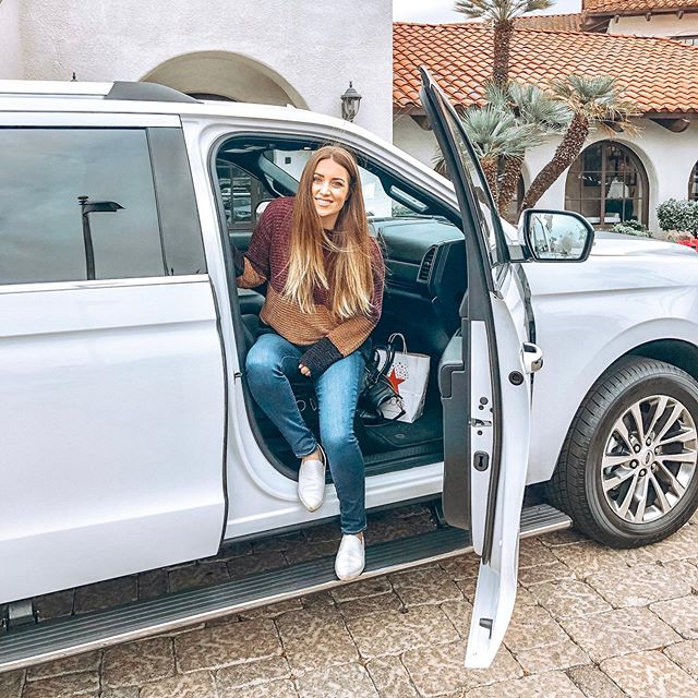 Car tour video is up on my channel! I'm talking about why I love it, showing the inside and fitting 3 car seats. And thank you all for the cup holder options for my hydroflask! You are the best!! 😄 (*Also this was back in December when we bought the car. My stomach didn't disappear, it's still enormous. 👌🏼)