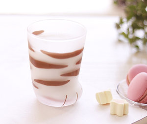 Mumuuu Cat Paw Glass Cup