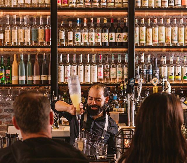 Making Mondays manageable with the promise of your favorite cocktails! 🍸🍹 🥃#mondaymotivation #mezcalmonday #santomezcal