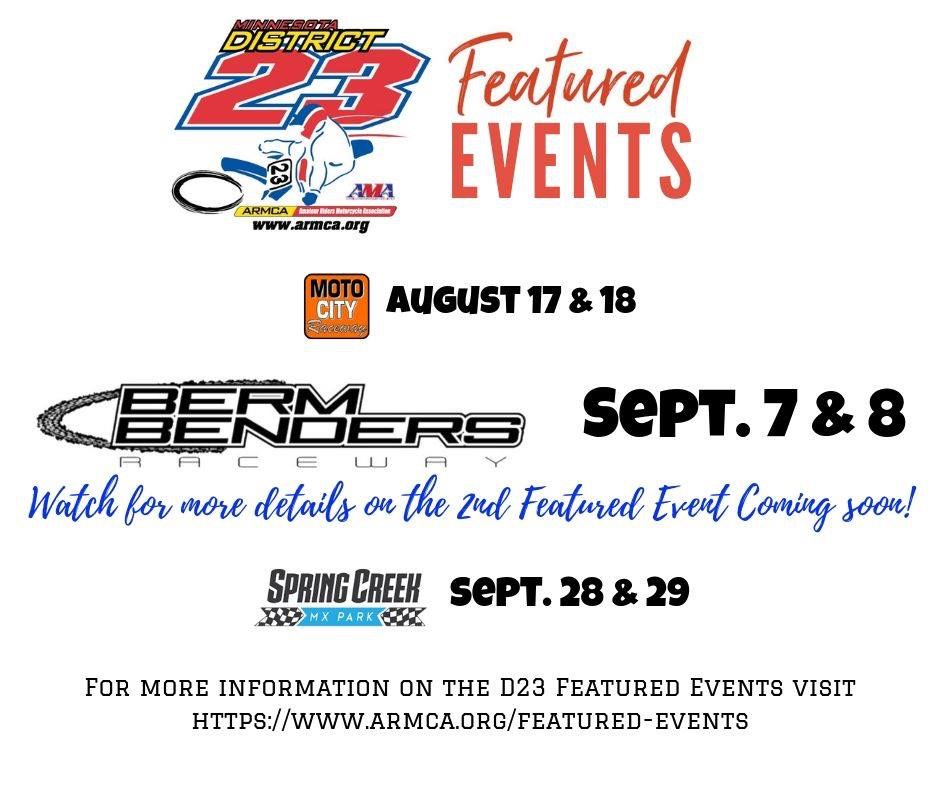 D23 Motocross Featured Events